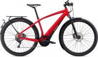 Specialized Turbo Vado 6.0 Flo Red W/Blue Ghost Pearl XL