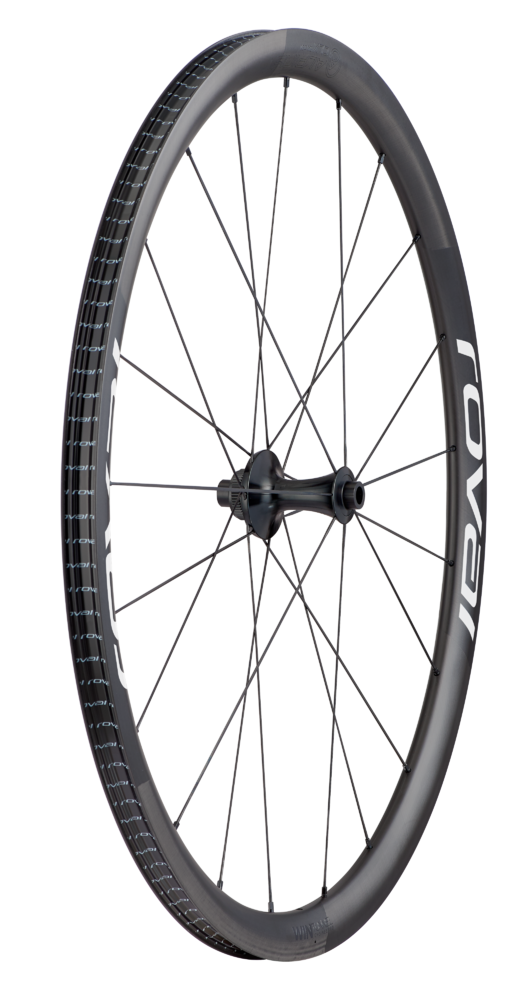Specialized Roval Alpinist CLX - Vorderrad Satin Carbon/White 700c