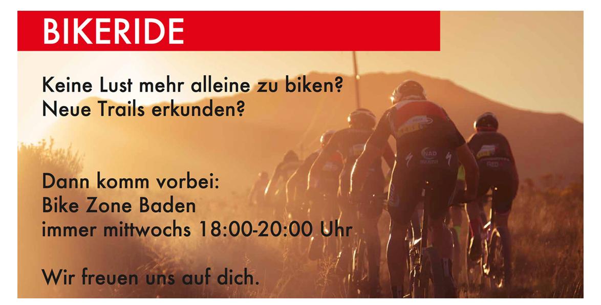 BikeRide Mittwochs - Bike Zone